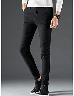 billige Herrebukser og -shorts-menns asiatiske størrelse slanke shortsbukser - solid farget armygrønn