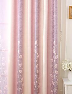 billige Gardiner-gardiner gardiner Stue Stribe 100% Polyester Reaktivt Trykk