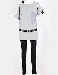 """billige Anime Kostymer-Inspirert av K-ON Ritsu Tainaka Anime  """"Cosplay-kostymer"""" Cosplay Klær Ensfarget / Enkel / Moderne Topp / Bukser / Hansker Til Herre / Dame"""