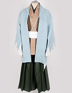 """billige Anime Kostymer-Inspirert av Cosplay Cosplay Anime  """"Cosplay-kostymer"""" Cosplay Klær / Japansk Kimono Ensfarget Kimono Frakke / Kostume Til Herre / Dame"""