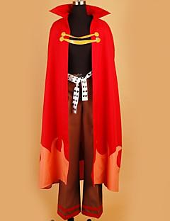 """billige Anime Kostymer-Inspirert av Gurren Lagann Cosplay Anime  """"Cosplay-kostymer"""" Cosplay Klær Spesielt design Topp / Bukser / Kappe Til Herre / Dame"""