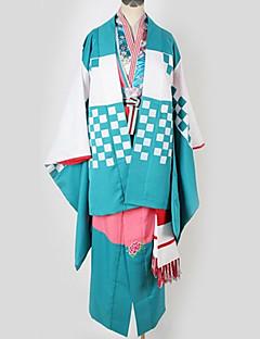 """billige Anime cosplay-Inspirert av Blå Eksorsist Cosplay Anime  """"Cosplay-kostymer"""" Japansk Kimono Mønstret Mer Tilbehør / Kimono Frakke / Kostume Til Herre / Dame"""