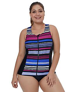 994e1434ebf Women s Basic Strap Rainbow Cheeky One-piece Swimwear - Striped Racerback  XL XXL XXXL Rainbow   Sexy