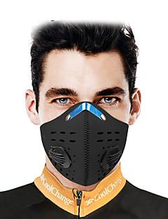 billige Sykkelklær-CoolChange Ansiktsmaske Svart Vanntett Vindtett Pusteevne Utendørs Trening Jogging Sykkel Alle Unisex Ensfarget polyster polypropylen / Mikroelastisk