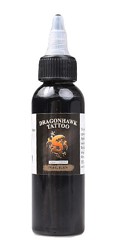 cheap -DRAGONHAWK Tattoo Ink 1*60 ml Best Quality / Safety - Black