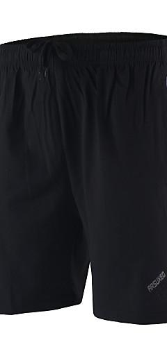 abordables -Arsuxeo Homme Shorts de Course Running Des sports Spandex Cuissard  / Short Fitness Entraînement de gym Faire des exercices Grandes Tailles Tenues de Sport Respirable Séchage rapide Doux Matériaux
