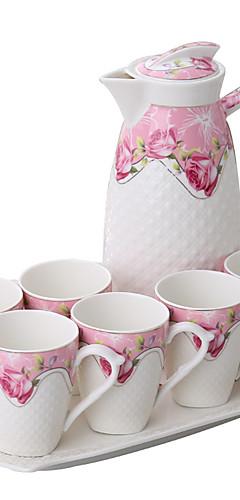 cheap -Drinkware Drinkware Set Porcelain Cartoon / Boyfriend Gift / Girlfriend Gift Casual / Daily