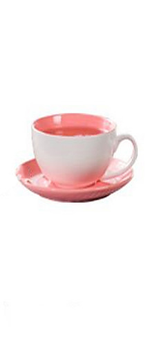 cheap -Drinkware Cup & Saucer Porcelain Heat-Insulated Casual / Daily