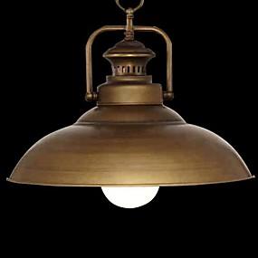 billige Hengelamper-Anheng Lys Opplys Krom Metall Stearinlys Stil 110-120V / 220-240V Pære ikke Inkludert / E26 / E27