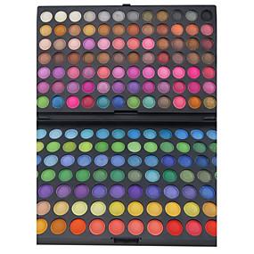 billige Øjenskygger-168 farver Øjenskygger / Pudder Øjne Festmakeup Makeup Kosmetiske / Mat / Glans