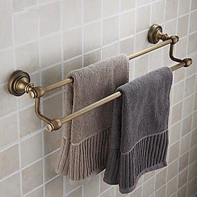 povoljno Dodaci za kupaonicu-double ručnik bar, starinski mesinga finiš mesing materijala, kupaonica pribor
