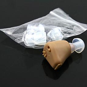 저렴한 건강 & 관리제품-귀 귀 플러그 사운드 향상 청각 장애인 지원에 작은 편리한 조정 톤 충전식 보청기 보조