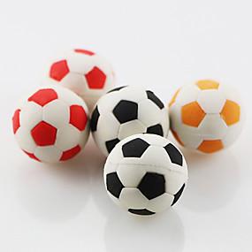 Χαμηλού Κόστους Ημερήσιες Προσφορές-χαριτωμένο ποδόσφαιρο ποδοσφαίρου συγκεντρώνουν δώρο παιδιά μαθητών σχολείο γόμα