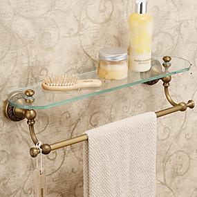 cheap Bath Accessories-Bathroom Shelf Antique Brass 1 pc - Hotel bath