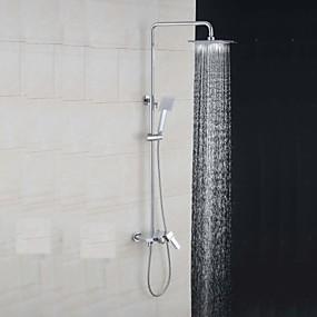 povoljno Slavine-Slavina za tuš - Starinski Slikano završi Zidne slavine Keramičke ventila Bath Shower Mixer Taps / Brass