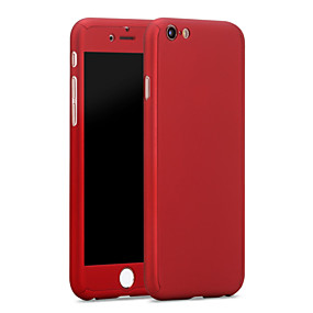 abordables Teléfonos y accesorios-Funda Para Apple iPhone 6 Plus / iPhone 6 Resistente al Agua Funda Trasera Un Color Dura ordenador personal para iPhone 6s Plus / iPhone 6s / iPhone 6 Plus