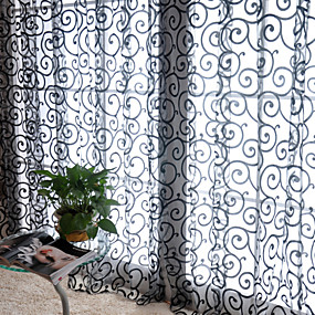 "cheap Curtains & Drapes-Curtains Drapes One Panel 39""W*79""L White / Living Room"