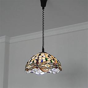 abordables Lampe Tiffany-CXYlight Lampe suspendue Lumière dirigée vers le bas Autres Métal Coquille Style mini 110-120V / 220-240V Ampoule non incluse / E26 / E27
