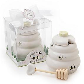 billige Praktiske gaver-Bryllup / jubileum / Baby Fest Keramikk Kjøkkenredskaper / Te Fest Favoritter Strand Tema / Hage Tema / Asiatisk Tema - 1 pcs