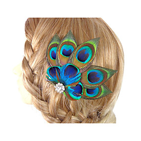 2016 New Fascinator Hair Accessories Clip in Feather Accessories Hand Made 469ce15b28d1