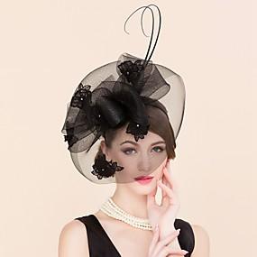povoljno Kentucky Derby Hat-Žene Čipka Umjetno drago kamenje Til Glava-Vjenčanje Special Occasion Neformalan Fascinators Kavez Burke 1 komad