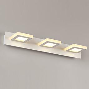 저렴한 특별 할인 및 프로모션-간단한 / led / modern / contemporary 벽 램프& sconces 금속 벽 빛 90-240v 3 w / led 통합 된 화장 대 라이트
