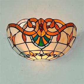 billige Tiffany Lamper-CXYlight Tiffany / Rustikk / Hytte / Vintage Vegglamper Metall Vegglampe 110V / 110-120V / 220-240V Max 60W / E26 / E27