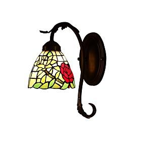 billige Tiffany Lamper-Tiffany Vegglamper Til Glass Vegglampe 220V 110V 40w