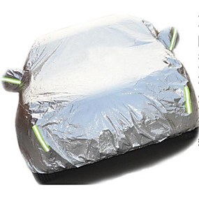 voordelige Autohoezen-car auto's te dekken, stof, anti-diefstal, anti-diefstal, anti zon, warmte-isolatie en het type auto verdikking kleren