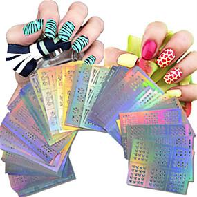 povoljno Salon za nokte-63 pcs Cijeli Nail Savjet Nakit za nokte nail art Manikura Pedikura Lijep Voće / Cvijet / Klasik Dnevno / Crtići