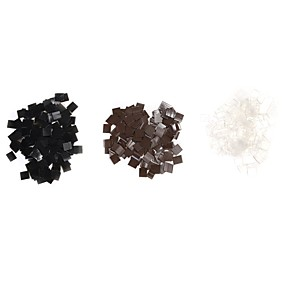 billige Verktøy og tilbehør-Hairextension-verktøy Keratin Parykk Lim Keratin / Fusion Lim 100pcs Hvit Svart Brun