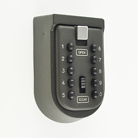 cheap Access Control Systems-Key Box Zinc Alloy Password unlocking for Key