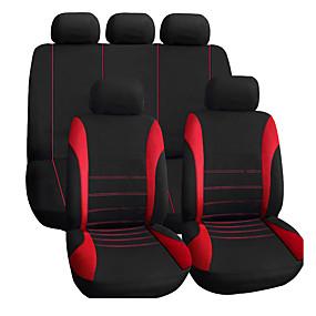 abordables Accessoires Intérieur de Voiture-housses de siège auto accessoires intérieurs airbag compatible housse de siège auto pour siège pour lada volkswagen rouge bleu gris protection de siège