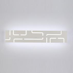 billige Vanity-lamper-Moderne / Nutidig Baderomsbelysning Metall Vegglampe IP44 220V / 110V 18W
