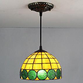 billige Tiffany Lamper-25W Anheng Lys ,  Traditionel / Klassisk / Tiffany / Kontor / Bedrift Maleri Trekk for Mini Stil Metall Stue / Inngang
