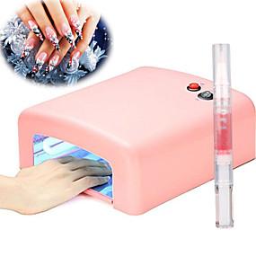 voordelige Nageldrogers & Lampen-UV-lampen en peertjes 36 W Voor 110-220 V Nail Art Design Casual / Dagelijks Dagelijks Makkelijk mee te nemen / Geschikt
