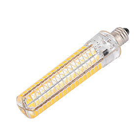 cheap Clearance-YWXLight® Dimmable BA15D 10W 136LED 5730SMD Warm White Cool White Silicone LED Corn Lights AC 110-130V AC 220-240V