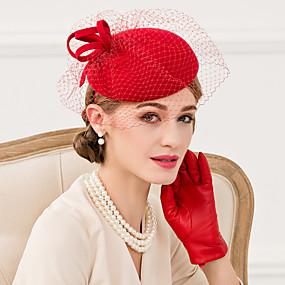 povoljno Kentucky Derby Hat-vuna net fascinators kape headpiece klasični ženski stil