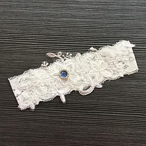abordables Ligas para Novia-Encaje Clásico / Moda Liga de la boda Con Pedrería / Encaje Ligas