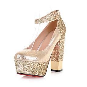 a8f9733db065 cheap Rose Golden Heels-Women's Heels Chunky Heel / Block Heel