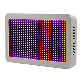 cheap Clearance-600W Full Spectrum LED Grow Light For Hydroponics Vegetables and Flowering Plants Red+Blue+UV+IR EU Plug