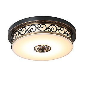 billige Taklamper-LightMyself™ Takplafond Nedlys Bronse Metall LED 110-120V / 220-240V Pære Inkludert / Integrert LED