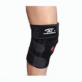 billige Sportsstøtter-Knestøtte til Klatring Sykling / Sykkel Løp Unisex Profesjonell Passer venstre eller høyre kne Stretch Beskyttende Sport utendørs Camping