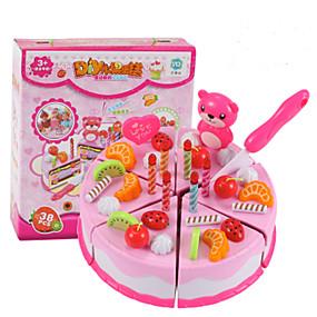 povoljno Igre oblačenja i pretvaranja-Toy Kuhinjske garniture Igračke - hrana Maskiranje Voće Torta / kolači Za desert simuliranje PVC Dječji Dječaci Igračke za kućne ljubimce Poklon
