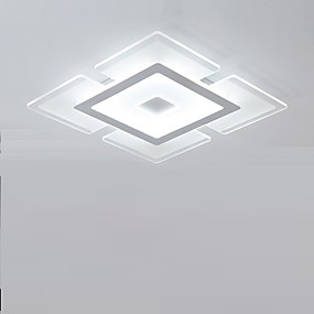 halpa Himmennettävät kattovalaisimet-Uppoasennus Tunnelmavalo Muut Akryyli Akryyli Himmennettävissä, LED, Himmennettävä kaukosäätimellä 90-240V LED-valonlähde mukana / Integroitu LED