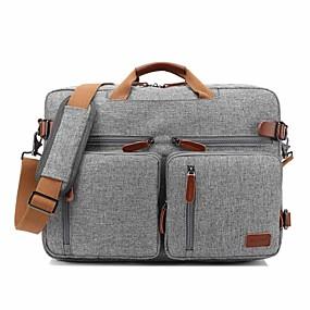 """ieftine -0.1-coobell 17 """"sac de laptop pentru umeri de laptop / rucsaci de navetă / genți de mână textile textile colorate pentru biroul de afaceri"""