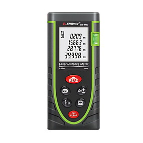 ieftine Others-Sndway sw-m40 digital de mână cu distanța de măsurare a distanței la distanță de 40m 635nm& Unghi de măsurare (1.5v aaa baterii)