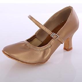 Per donna Sneakers da danza moderna Sintetico Tacchi Tacco su misura Personalizzabile  Scarpe da ballo Nero   Argento   Marrone 0c4bdc5bee6