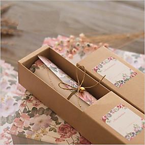 billige Festsuvenirer og gaver-Rull Bryllupsinvitasjoner Andre / Invitasjonskort Klassisk Materiale / 100% jomfru papirmasse / Høy kvalitet papir Blomst