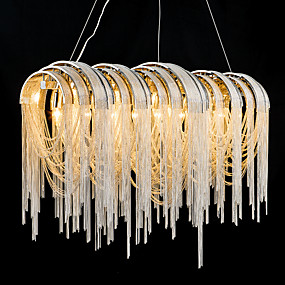 povoljno Lusteri-7-Light Privjesak Svjetla Ambient Light - Zatamnjen, dizajneri, 110-120V / 220-240V Bulb not included / 10-15㎡